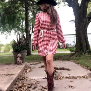 This is the cutest Zara long sleeve knit dress